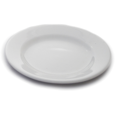 "DX5ACBP02A - 5.5"" China Bread Plate 5.5"" - Bright White"