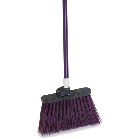 """4108368 - Sparta® Spectrum® Duo-Sweep® Angle Broom Unflagged 56"""" Long - Purple"""