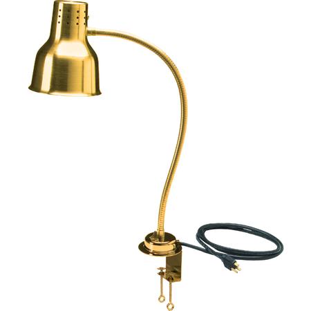 "HL8185GC00 - FlexiGlow™ Single Arm Heat Lamp, Includes Clamp 24"" - Gold"