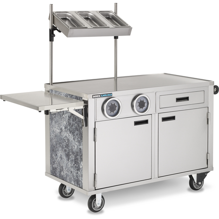 """DXHYDCT - Hydration Cart 53.75"""" x 27.19"""" x 64.92"""" (1ea) - Stainless Steel"""