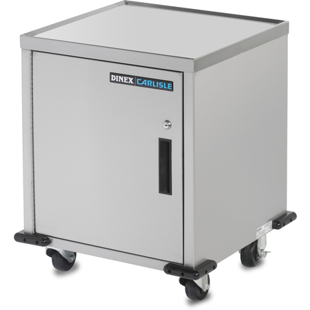 """DXIQTEC - SS Cabinet/Stand (enclosed w/locking door) 21.75""""L x 20.50""""D - Stainless Steel"""
