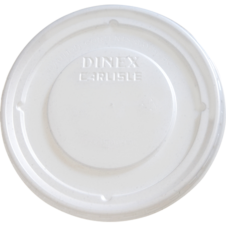 DX33008714 - Turnbury® Translucent Lid- Fits DX3300 9 oz. Bowl (1000/cs) - Translucent