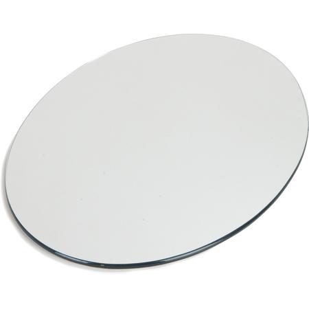 "SMO223223 - MirAcryl™ Oval Tray 31"" x 20-21/32"" - Mirrored"