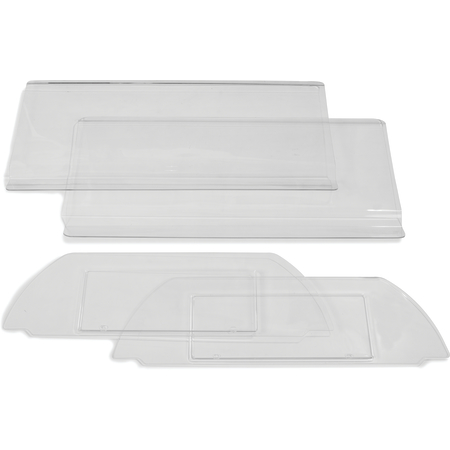 667207 - Six Star™ Replacement Sneeze Guard for Food Bar 4' - Clear