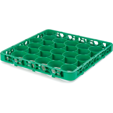 REW30SC09 - OptiClean™ NeWave™ Color-Coded Short Glass Rack Extender 30 Compartment - Green