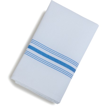 "53771822NH062 - SoftWeave™ Bistro Striped Napkin 18"" x 22"" - Blue"