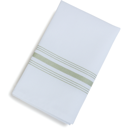 "53771822NH147 - SoftWeave™ Bistro Striped Napkin 18"" x 22"" - Sage"