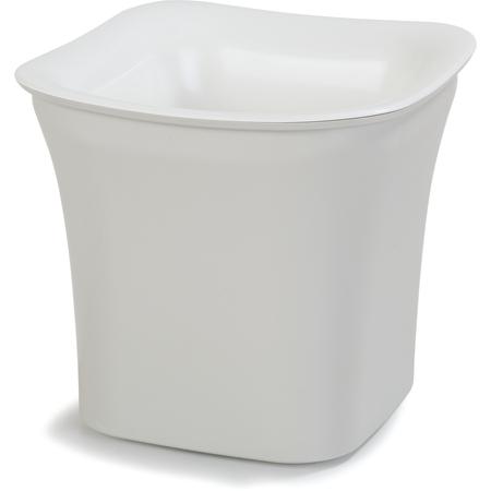 CM1401439 - Designer Coldmaster® 2 Qt Flared Square 2 qt - White-Champagne