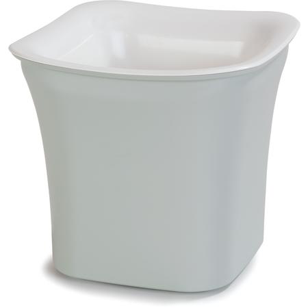CM1401440 - Designer Coldmaster® 2 Qt Flared Square 2 qt - White-Pewter