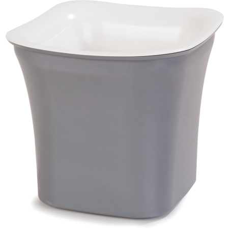 CM1401441 - Designer Coldmaster® 2 Qt Flared Square 2 qt - White-Charcoal