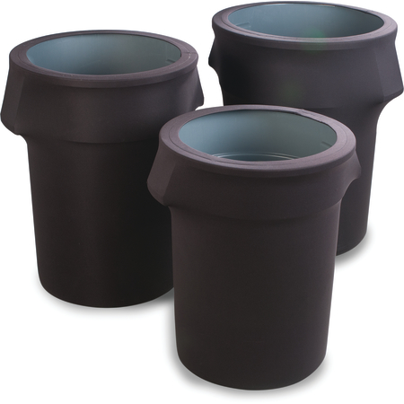 EMB5026WC44014 - Embrace™ Waste Container Cover 44 Gal - Black