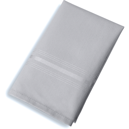"53761822NH512 - SoftWeave™ Tone on Tone Epicure Napkins 18"" x 22"" - Metallic Gray"