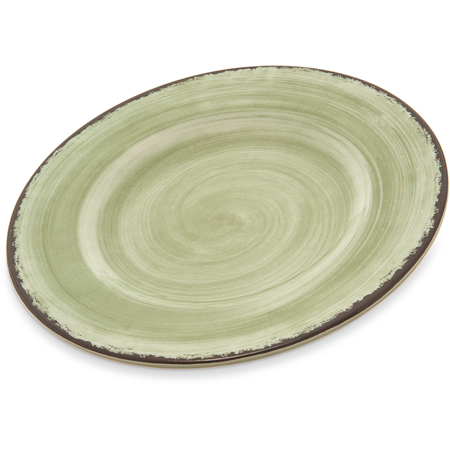 """5400246 - Mingle Melamine Dinner Plate 9"""" - Jade"""