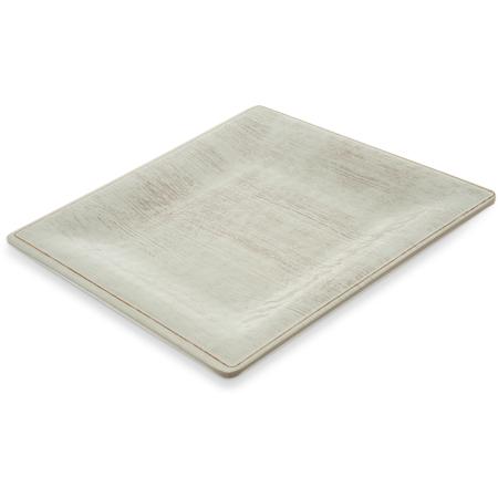 "6402306 - Grove Melamine Square Salad Plate 8.5"" - Buff"