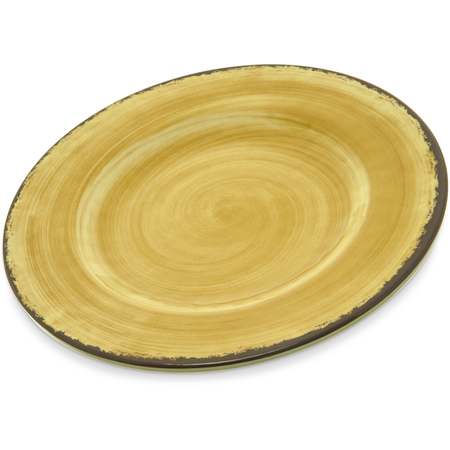 """5400213 - Mingle Melamine Dinner Plate 9"""" - Amber"""