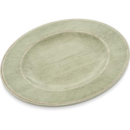 """6400246 - Grove Melamine Salad Plate 9"""" - Jade"""