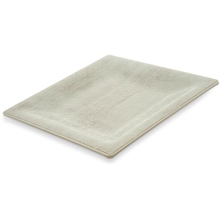 "6402206 - Grove Melamine Square Plate 10.5"" - Buff"