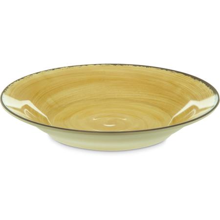 5400313 - Mingle Melamine Rimmed Soup Bowl 28.5 oz - Amber