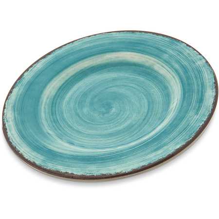 """5400215 - Mingle Melamine Dinner Plate 9"""" - Aqua"""