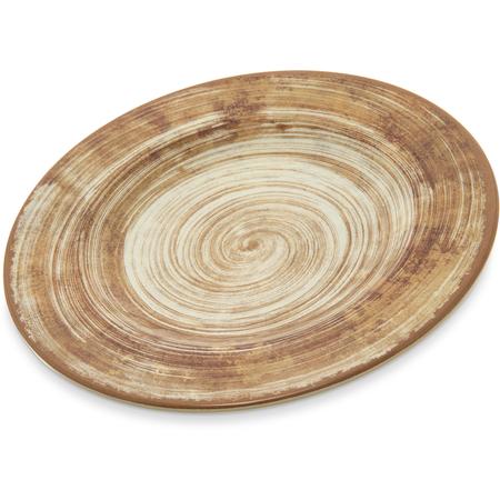"""5400217 - Mingle Melamine Dinner Plate 9"""" - Copper"""