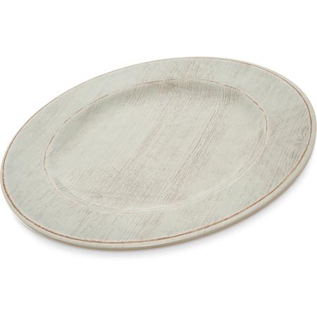 """6400106 - Grove Melamine Dinner Plate 11"""" - Buff"""