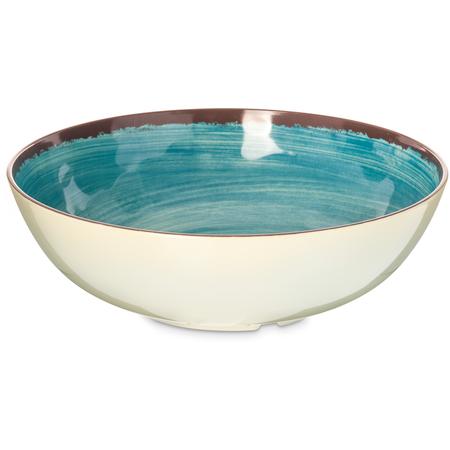 5401315 - Mingle Melamine Large Serving Bowl 5 Quart - Aqua