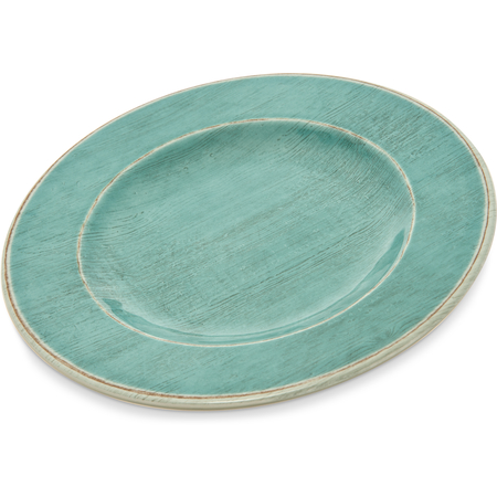 """6400215 - Grove Melamine Salad Plate 9"""" - Aqua"""