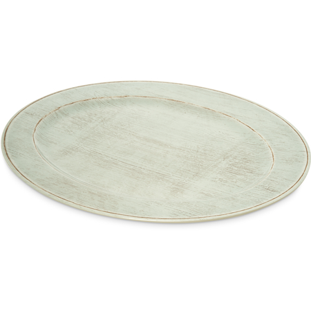 "6402106 - Grove Melamine Oval Platter Tray 20"" x 14"" - Buff"