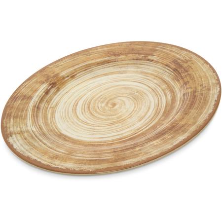 """5400117 - Mingle Melamine Dinner Plate 11"""" - Copper"""