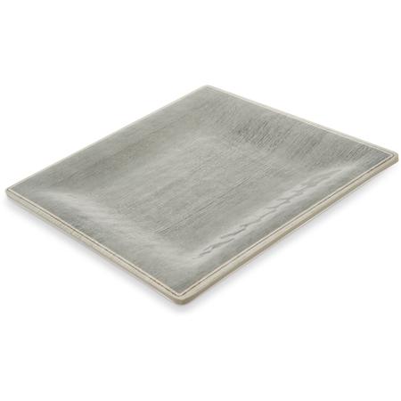 "6402318 - Grove Melamine Square Salad Plate 8.5"" - Smoke"