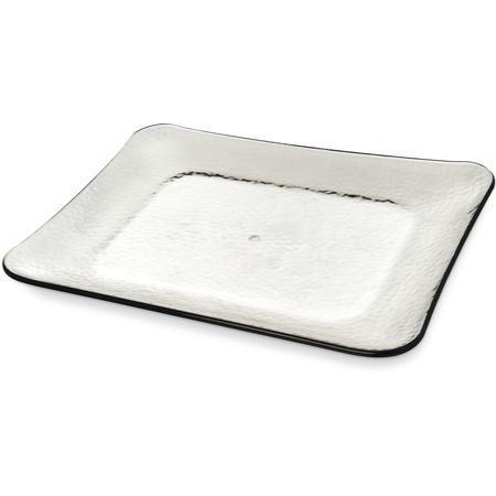 """TRA0118 - Terra Rectangular Platter 19.75"""" x 14.75"""" - Smoke"""