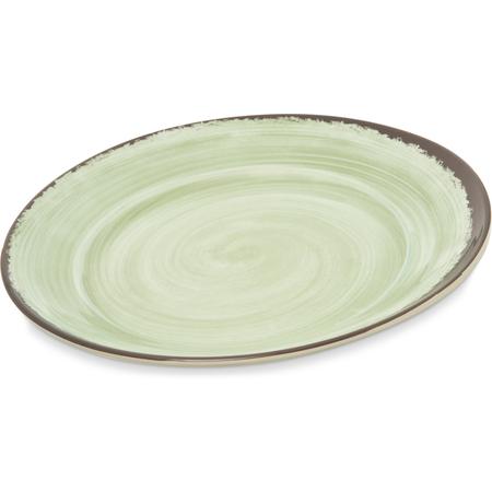 """5400646 - Mingle Melamine Round Charger 12.5"""" - Jade"""