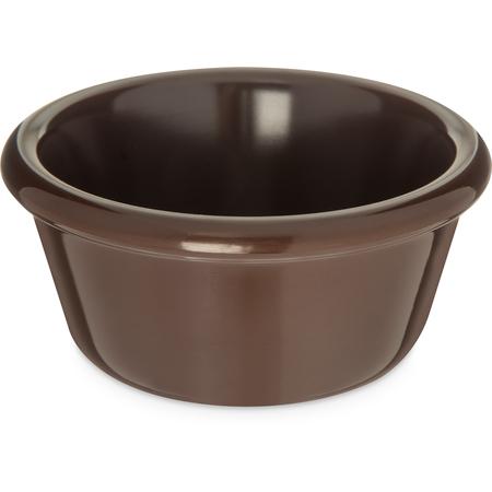 S28669 - Melamine Smooth Bowl Ramekin 6 oz - Chocolate
