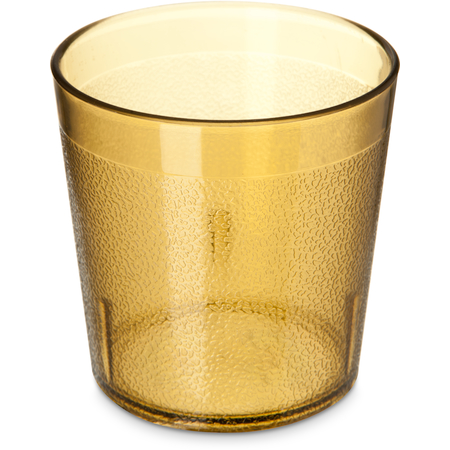 552913 - Stackable™ Old Fashion SAN Plastic Tumbler 9 oz - Amber