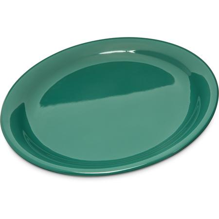 """4300409 - Durus® Melamine Narrow Rim Dinner Plate 9"""" - Green"""