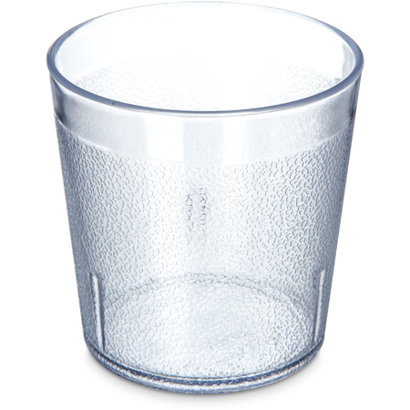 5529-207 - Stackable™ Old Fashion SAN Plastic Tumbler 9 oz - Clear