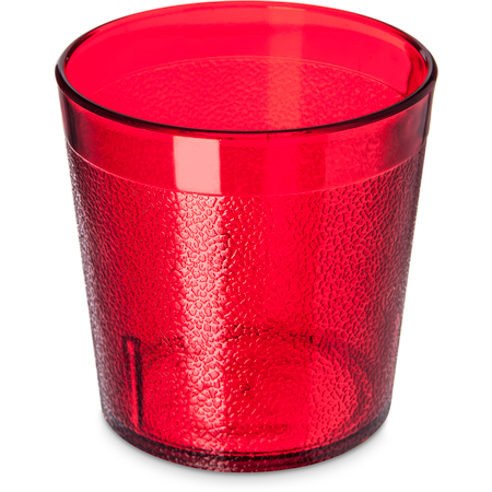 5529-8110 - Stackable™ Old Fashion SAN Plastic Tumbler 9 oz - Cash & Carry (6/pk) - Ruby