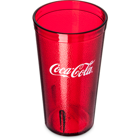 52163550D - Coca-Cola® Stackable™ SAN Tumbler 16 oz - Coca-Cola® - Ruby