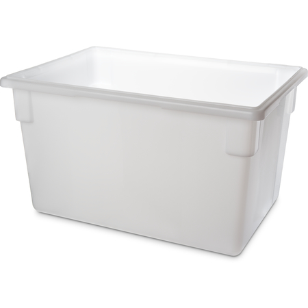 "1064402 - StorPlus™ Polyethylene Food Box Storage Container 21.5 Gallon, 26"" x 18"" x 15"" - White"
