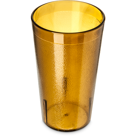 521213 - Stackable™ SAN Plastic Tumbler 12 oz - Amber