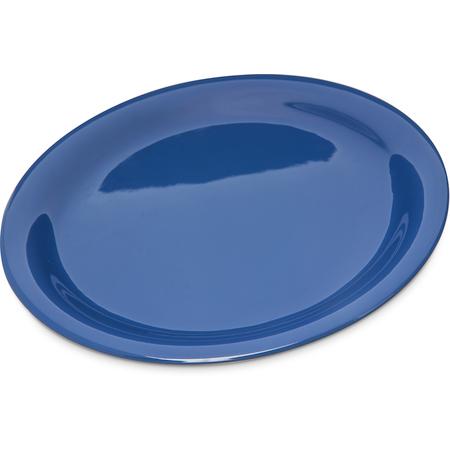 """4300414 - Durus® Melamine Narrow Rim Dinner Plate 9"""" - Ocean Blue"""