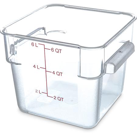 1072207 - StorPlus™ Square Container 6 qt - Clear