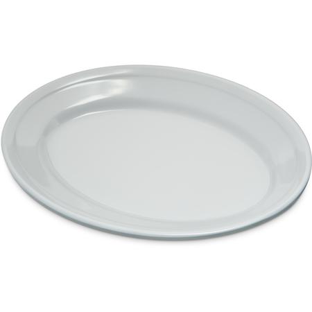 """4356302 - Dallas Ware® Melamine Oval Platter Tray 9.25"""" x 6.25"""" - White"""