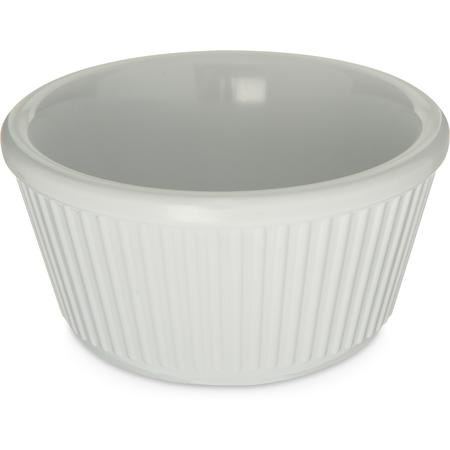 S28702 - Melamine Fluted Bowl Ramekin 4 oz - White