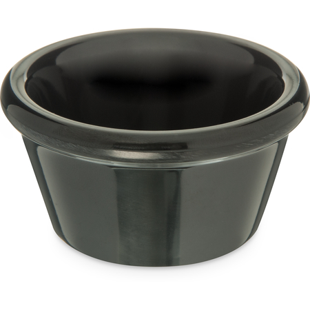 085203 - Melamine Smooth Ramekin 2 oz - Black