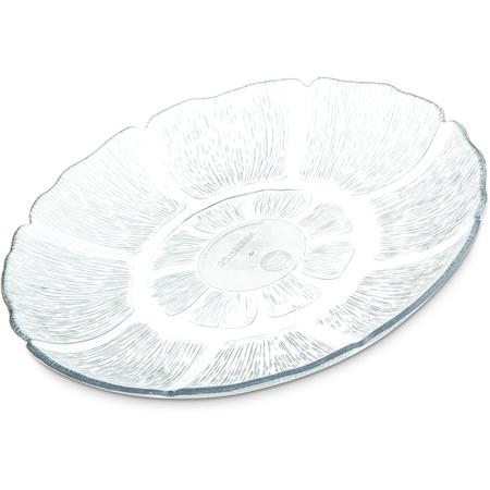 """6954-807 - Petal Mist® Plate 7-1/2"""" - Cash & Carry (4/st) - Clear"""