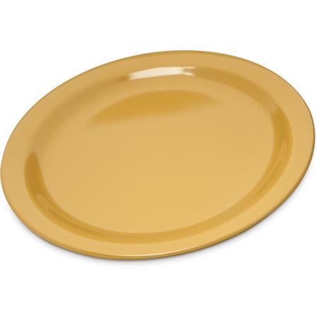 "4350122 - Dallas Ware® Melamine Dinner Plate 9"" - Honey Yellow"