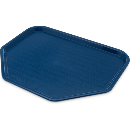 """CT1713TR14 - Cafe® Trapezoid Tray 18"""" x 14"""" - Blue"""