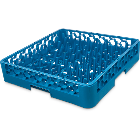 "RP14 - OptiClean™ All-Purpose Plate and Tray Peg Rack 3"" Pegs - Carlisle Blue"