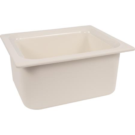 "CM110102 - Coldmaster® 6"" Deep Half-size Food Pan 6 qt - White"